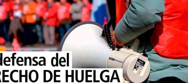 UGT expone la injusticia contra los 5 de Arcelor y los 300 sindicalistas encausados por ejercer el derecho de huelga