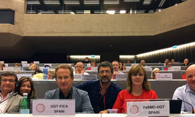Aprobadas dos importantes resoluciones a propuesta de UGT en el congreso de UITA