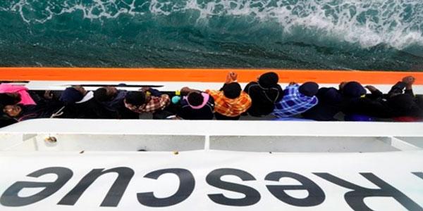 El rescate de personas en el mar no puede ser parte de políticas migratorias