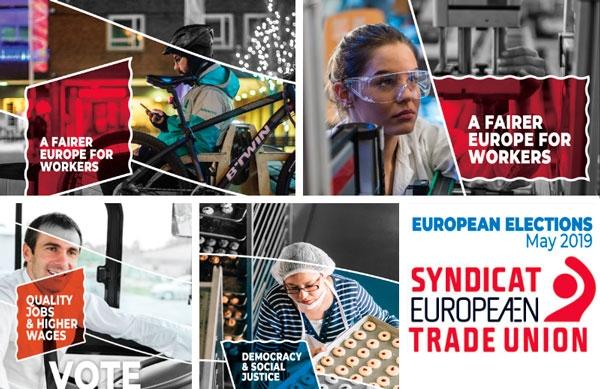 UGT y el movimiento sindical europeo exigen una Europa más justa para los trabajadores