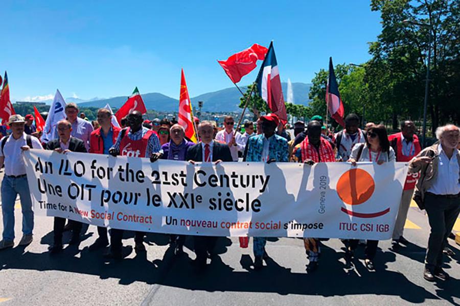 UGT reclama un nuevo contrato social mundial