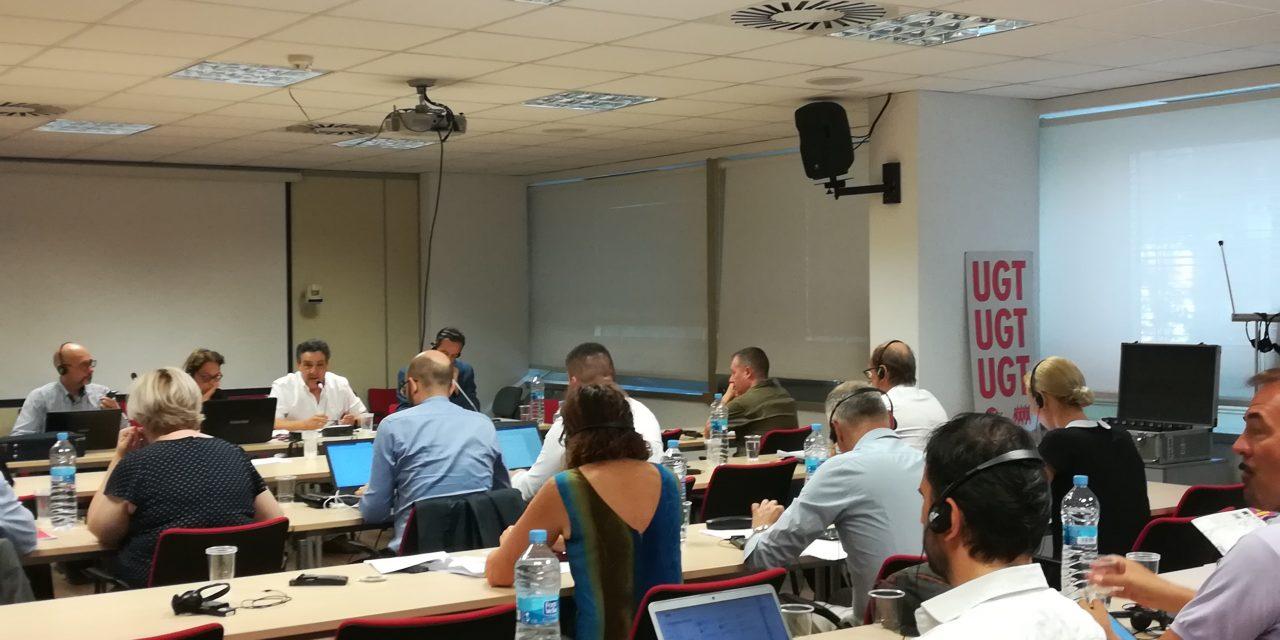 Se presenta en la sede de UGT el proyecto europeo sobre MIFID-II y digitalización