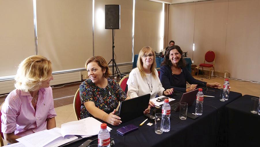 El Comité de Mujeres de ETF analiza el acceso de la mujer al sector transporte