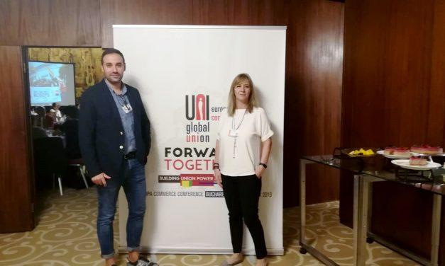 Una apuesta conjunta para reforzar al movimiento sindical en el sector comercio