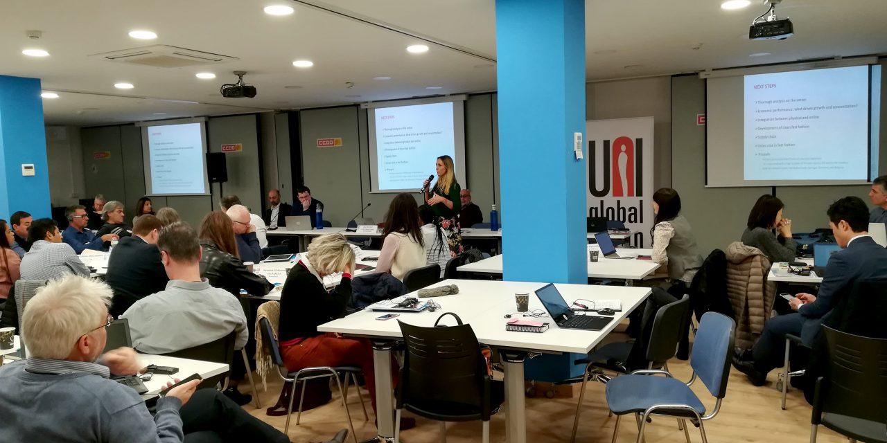 Celebrado el Comité mundial de UNI Global Comercio en Barcelona
